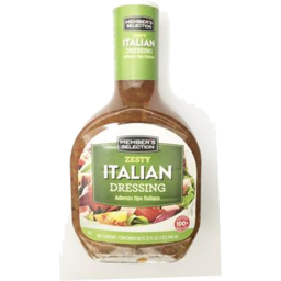 Photo of Members Selection Zesty Italian Dressing