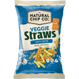 Photo of Natural Chip Co. Veggie Straws Lightly Salted 100g