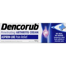 Photo of Dencorub Penetrating Arthritis Cream 100g