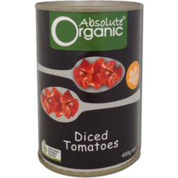 Photo of Absolute Organic Diced Tomatoes 400gm