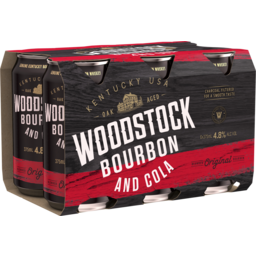 Photo of Woodstock & Cola 4.8% Cans