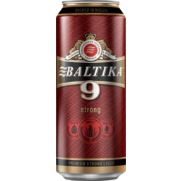 Photo of Beer Baltika 9 Can 8%