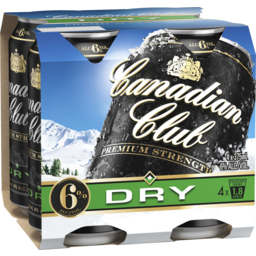 Photo of Can Club & Premium Dry 6% 24*375ml