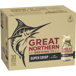 Photo of Great Northern Brewing Co Super Crisp Lager Cans