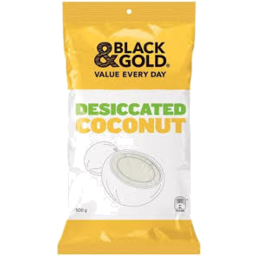 Photo of Black And Gold Coconut Desicated 500gm