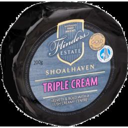 Photo of Flinders Estate Triple Cream Brie 200gm