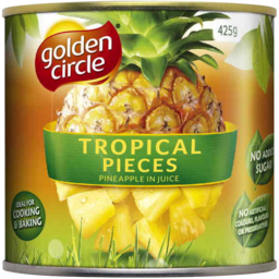 Photo of Golden Circle Tropical Pieces Pineapple In Juice 425gm