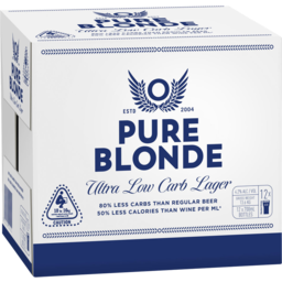 Photo of Pure Blonde 330ml Bottles 12 Pack