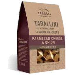Photo of Tarallini Parm Cheese & Onion 125g