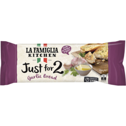 Photo of La Famiglia Just For 2 Garlic Bread 2 Pack 170g