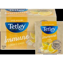 Photo of Tetley Lemon & Ginger Super Infusions 16pk