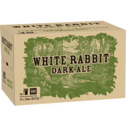 Photo of White Rabbit Dark Ale Stubbies