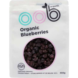 Photo of Oob Blueberries Org Frzn 450gm