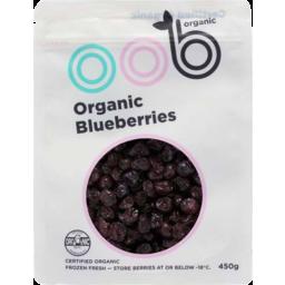 Photo of Oob Organic Blueberries 500g