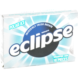 Photo of Wrigley's Eclipse Sugar Free Gum Polar Ice - 18 Ct