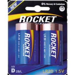 Photo of Rocket Battery Sehd D Size 2pk