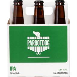 Photo of Parrot Dog Bitter Bitch IPA 330ml Bottles 6 Pack