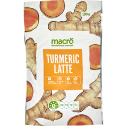 Photo of Macro Coffee Mix Turmeric Latte 100g