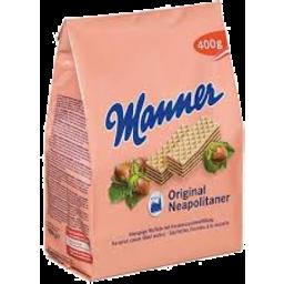 Photo of Manner Wafer Hazlenut 200g