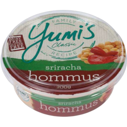 Photo of Yumis Srirach Hommus 200gm