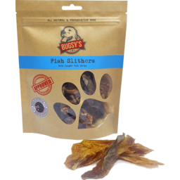 Photo of Bugsy's Pet Treats - Fish Slithers (Wild Caught Fish Strips)