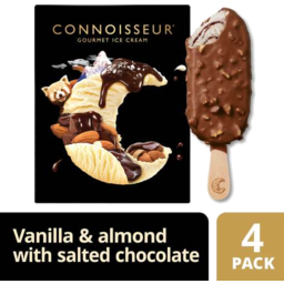 Photo of Connoisseur Ice Cream Salted Choc 4 Pack
