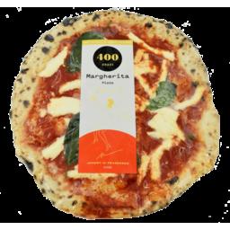 "Photo of 400 Gradi 11"" Pizza Margherita 400g"