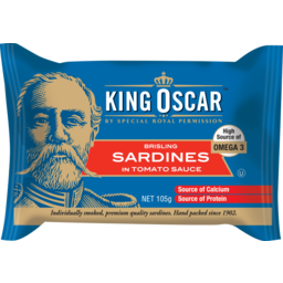 Photo of King Oscar Sardines In Tomato Sauce 105g 105g