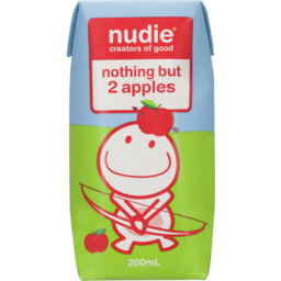 Photo of Nudie Nothing But 2 Apples 200ml