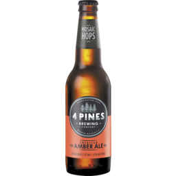 Photo of 4 Pines American Amber Ale Stubbies