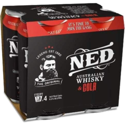 Photo of Ned Whisky & Cola Can
