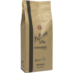 Photo of Vittoria Coffee Organic Coffee Beans 1kg