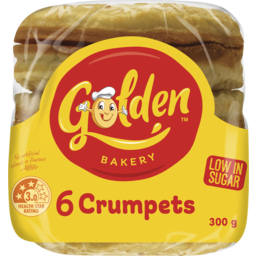 Photo of Golden® 6 Crumpets 300g
