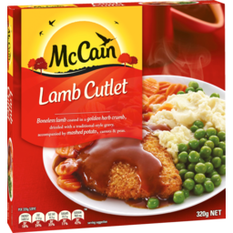 Photo of Mccain Red Box Dinner Lamb Cutlet And Gravy 320g