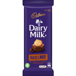 Photo of Cadbury Dairy Milk Chocolate Hazelnut  180g