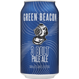 Photo of Green Beacon Brewing Co. 3 Bolt Pale Ale Cans