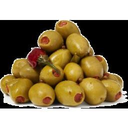 Photo of Mt Zero Mixed Chilli Olives