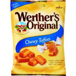 Photo of Werthers Original Chewy Toffees 135 Gram