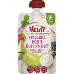 Photo of Heinz Smoothie Berry & Oat with Yoghurt 8m 120gm