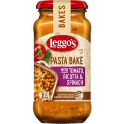 Photo of Leggo's Pasta Bake With Tomato, Ricotta & Spinach 500g