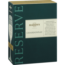 Photo of Hardys Reserve Chardonnay Cask 3l