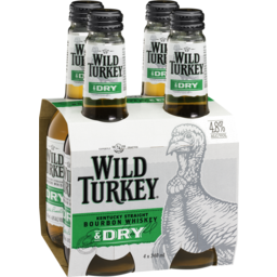 Photo of Wild Turkey & Dry Bottles