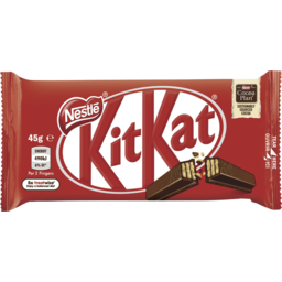 Photo of Nestle Kit Kat Chocolate Bar Creamier 4 Finger 45g 45g