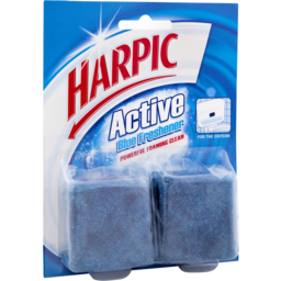 Photo of Harpic Active Blue Freshener Twin 114g
