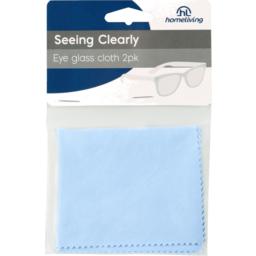 Photo of Homeliving Seeing Clearly Eyeglass Cleaning Cloth 2 Pack