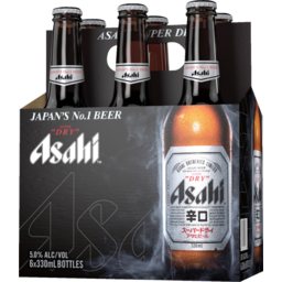 Photo of Asahi Super Dry Beer 6 Pack X 330ml