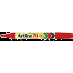 Photo of Artline 70 Marker Red