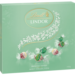 Photo of Lindt Lindor Mint Collection 142g
