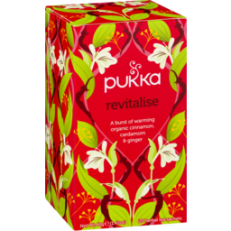 Photo of Pukka Revitalise Tea 20 Pack