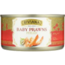 Photo of Riviana Baby Prawns Peeled 200g